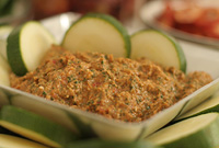Raw Vegan Tuscan Sun-Dried Tomato Pesto