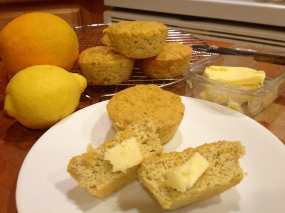 Sunshine Muffins (Gluten Free)