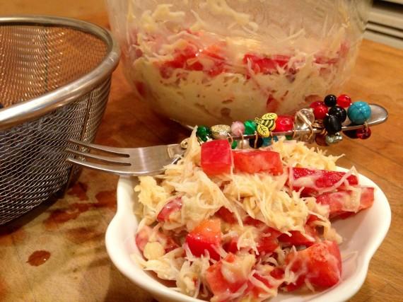 Quickie Crab Salad