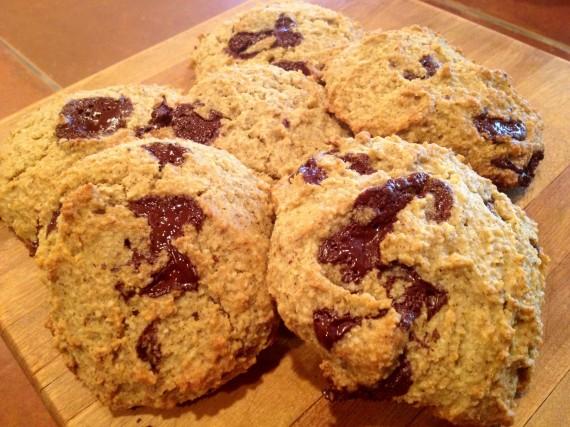 Vanilla Chocolate Chunk Cookies