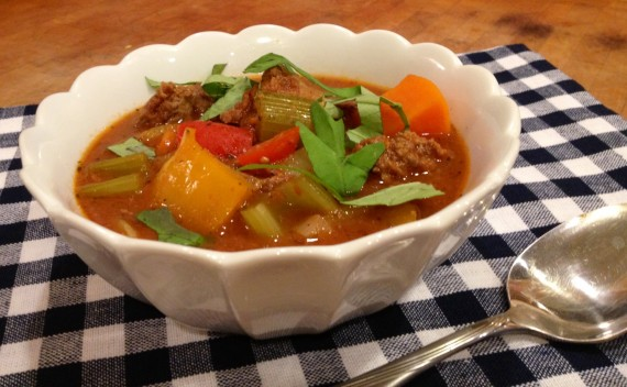 Grass Fed Bison Heart Stew