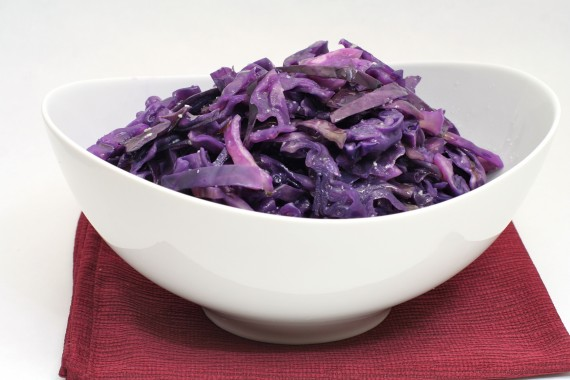 Buttered Purple Cabbage