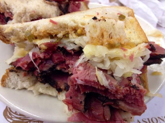 Katz Delicatessen (NYC) Pastrami Rueban Sandwich