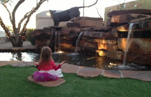 My 3yo meditating. #Longevity #Peace