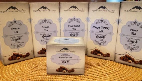 Organic Herbal Teas (tisanes)