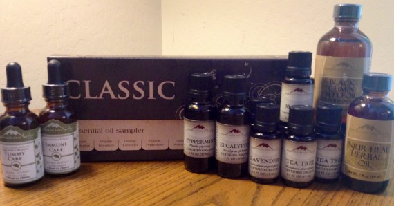 Organic Essential Oils for robust health and fighting illness.
