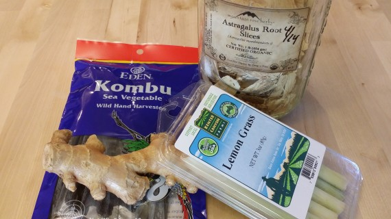 Some of the Ingredients for Longevity Bone Broth