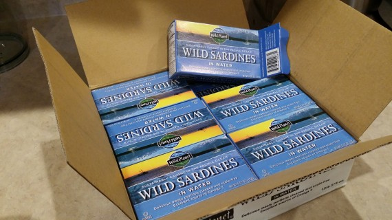 Sardines in bulk forces me to eat them more often.