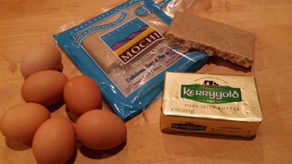 Ingredients for my Hungry Woman's breakfast