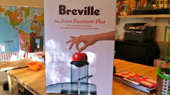 Welcome to the family, Breville Juice Fountain Plus