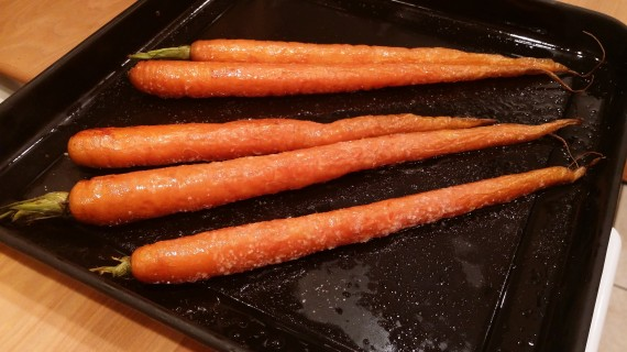 Roasted Whole Carrots - Ready to EAT!