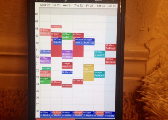 A reduced schedule - you should've seen it before <- Wish I had a pic of that.