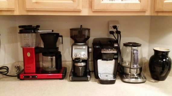 Ahhhh coffee (and tea) station.