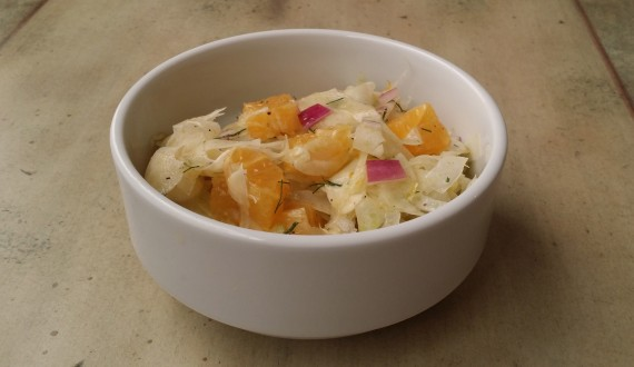 Juicy Refreshing Fennel Orange Salad - Ready to dive in.