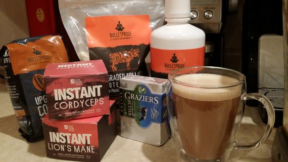 Taking my Bulletproof Coffee a step further with medicinal mushrooms.