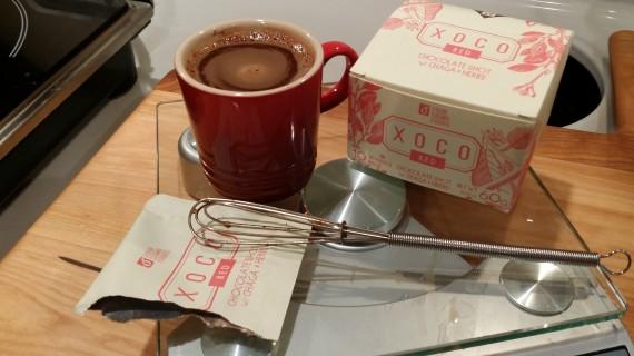 Shot of chocolate, anyone? XOCO Four Sigma Foods