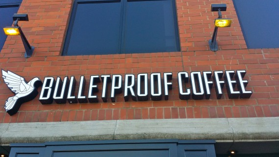 Bulletproof Coffee Shop in Santa Monica, CA.  #Awesome