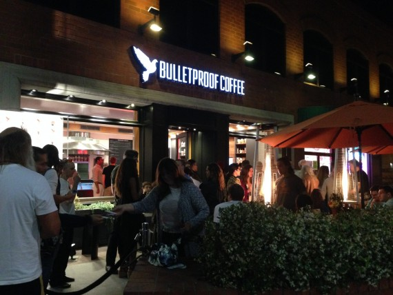 Bulletproof Coffee Shop / Cafe Pre-Opening Party