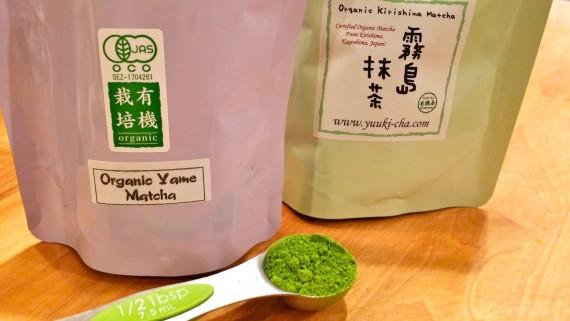 Quality organic matcha: Yame and Kirishima