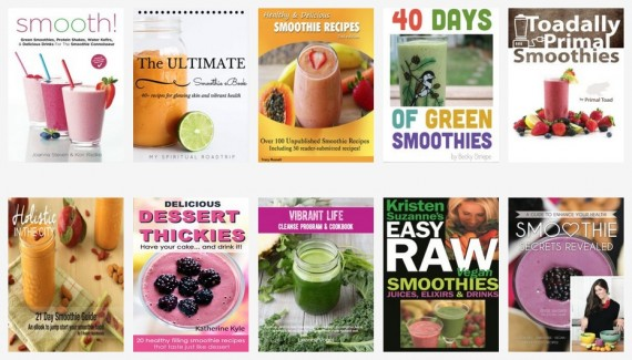smoothie ebook bundle! 10 ebooks for only 10 bucks