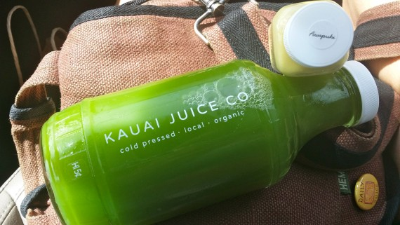 Fabulous Green Juice. Organic and cold-pressed