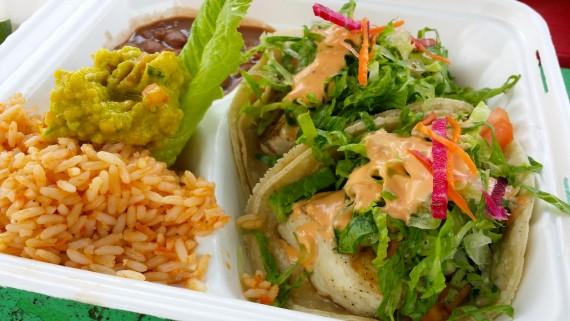 Best fish tacos in the world. Al Pastor. Kauai.
