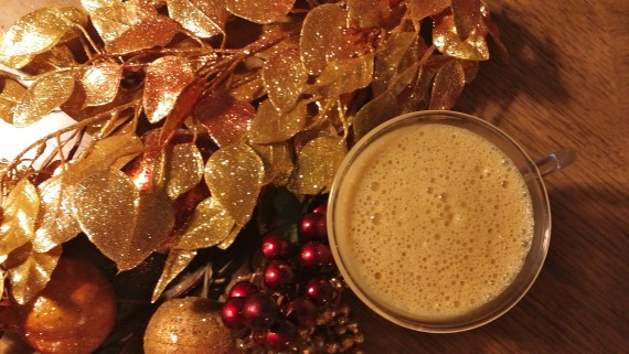 Pumpkin Spice Creamy Buttered Latte - GOOD!