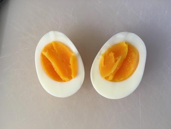 Hot damn that egg yolk sure is purrrrty.