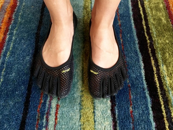 Vibrams: My everyday shoes and walking shoes for strong feet.