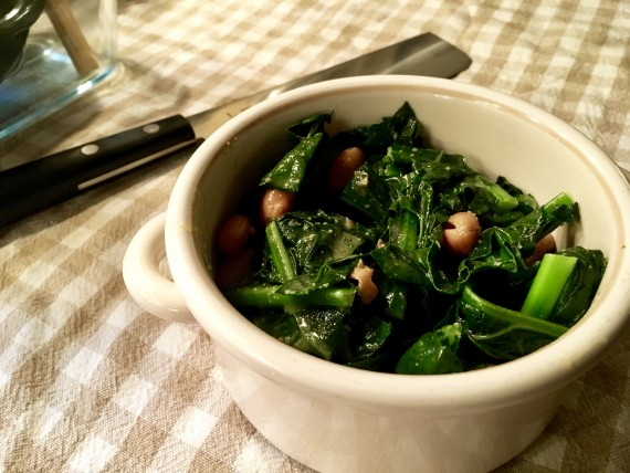 Tender kale and beans. So good. #InstantPotSMART