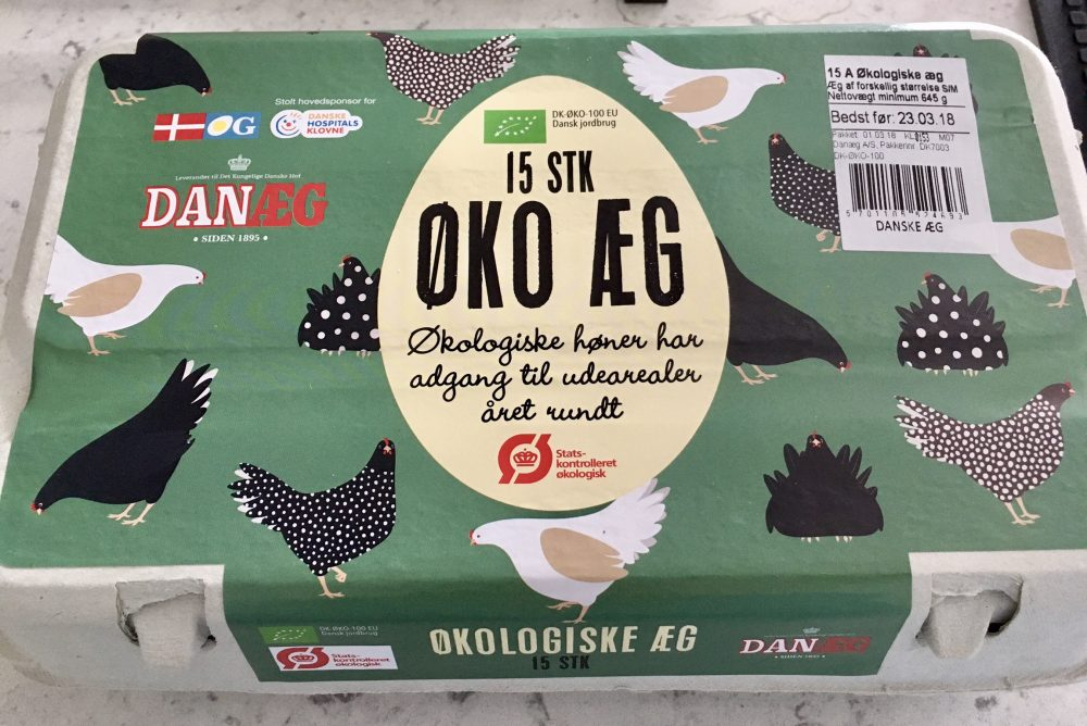 Eggs in Denmark