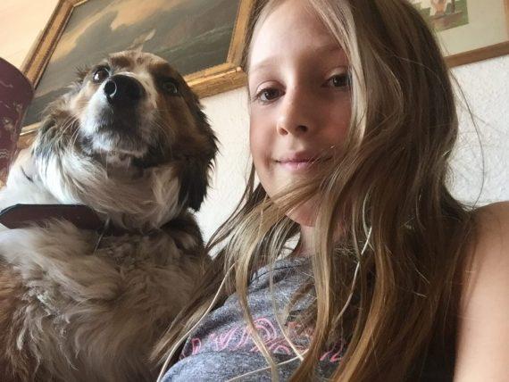 kid and dog housesitting