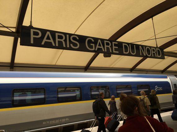 Paris Gare Du Nord Train Station