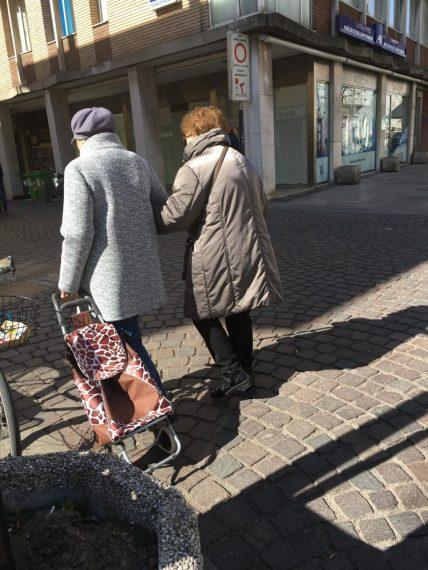 two italian ladies
